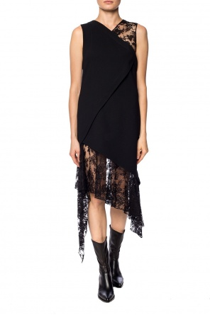 Dress with a lace finish od Givenchy