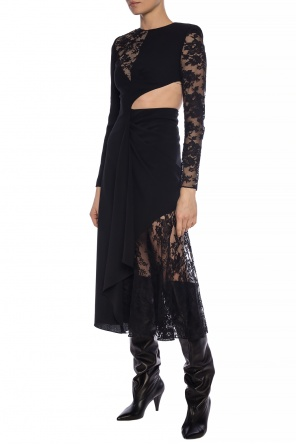 Dress with sheer inserts od Givenchy