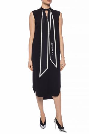 Tie-up dress with logo od Givenchy