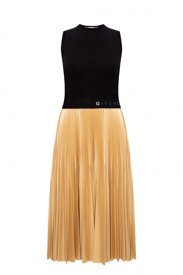 Givenchy Pleated sleeveless dress