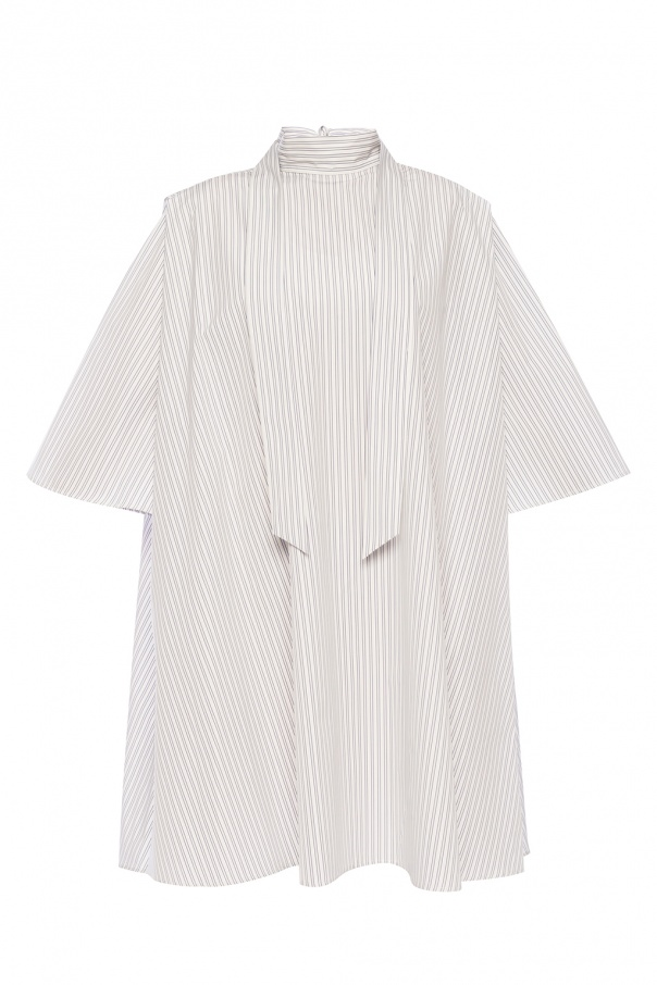 Givenchy Oversize dress with band collar