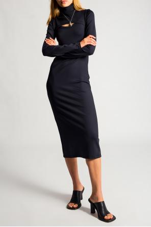 Dress with standing collar od Ambush
