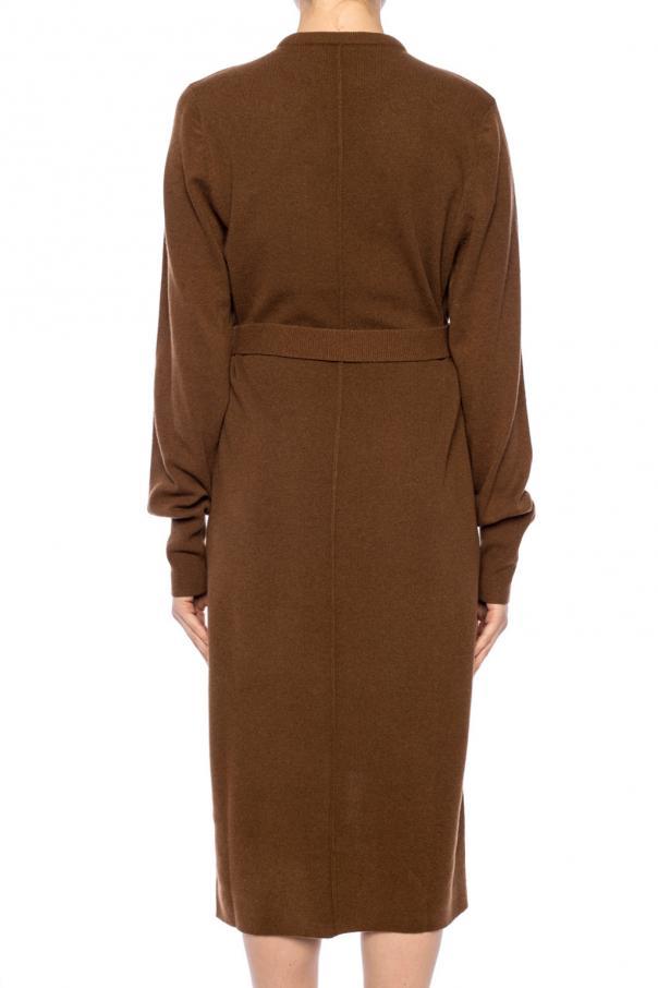 Asymetryczna sukienka z długim rękawem od Chloe