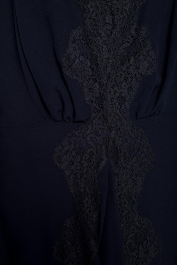 Sukienka z ażurowym wykończeniem od Chloe