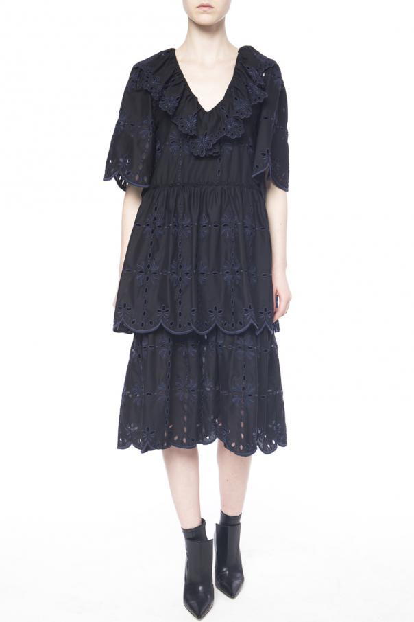 openwork dress see by chloe vitkac shop online. Black Bedroom Furniture Sets. Home Design Ideas