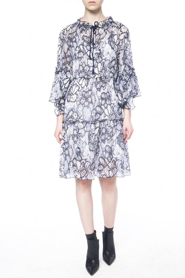 patterned dress see by chloe vitkac shop online. Black Bedroom Furniture Sets. Home Design Ideas