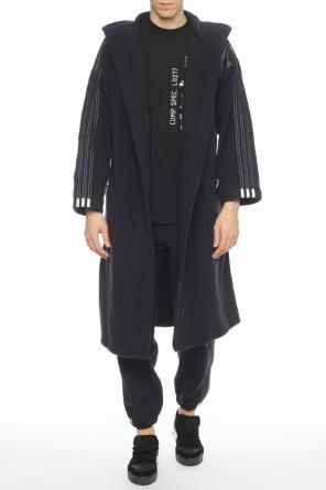 Belted waist fleece cardigan od Adidas by Alexander Wang
