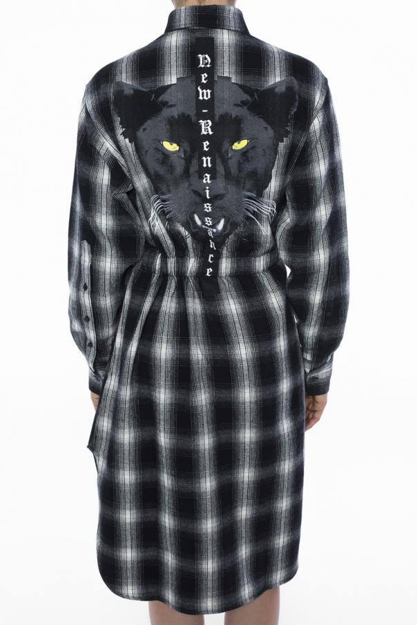 Checked dress od Marcelo Burlon