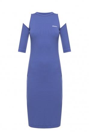 Dress with open shoulders od Marcelo Burlon