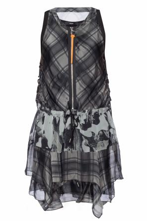 Tie-up patterned dress od Diesel