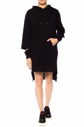 Sweatshirt dress with holes od Diesel