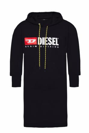 Asymmetrical sweatshirt dress od Diesel
