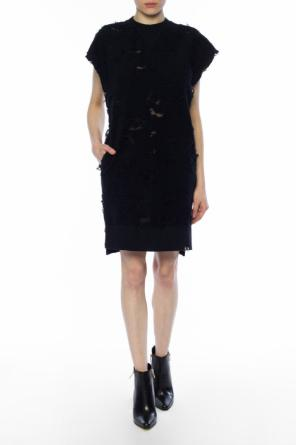 Dress with transprent inserts od Diesel