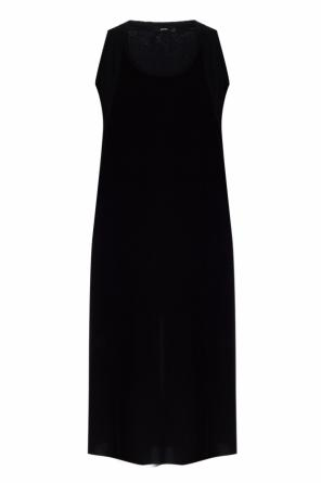 Embroidered logo dress od Diesel