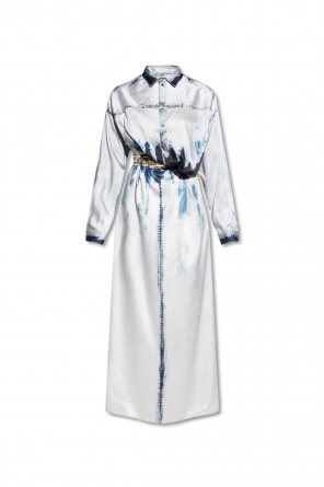 Patterned dress with belt od Diesel