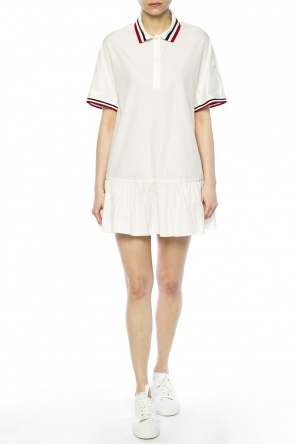 Dress with ruffle od Moncler