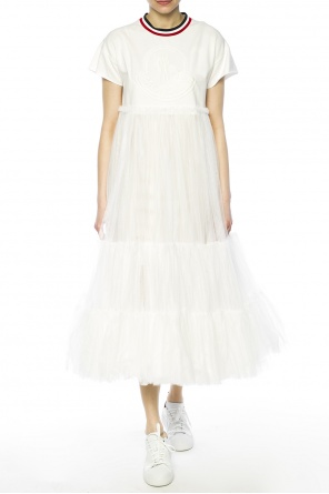 Ruffle dress od Moncler Gamme Rouge