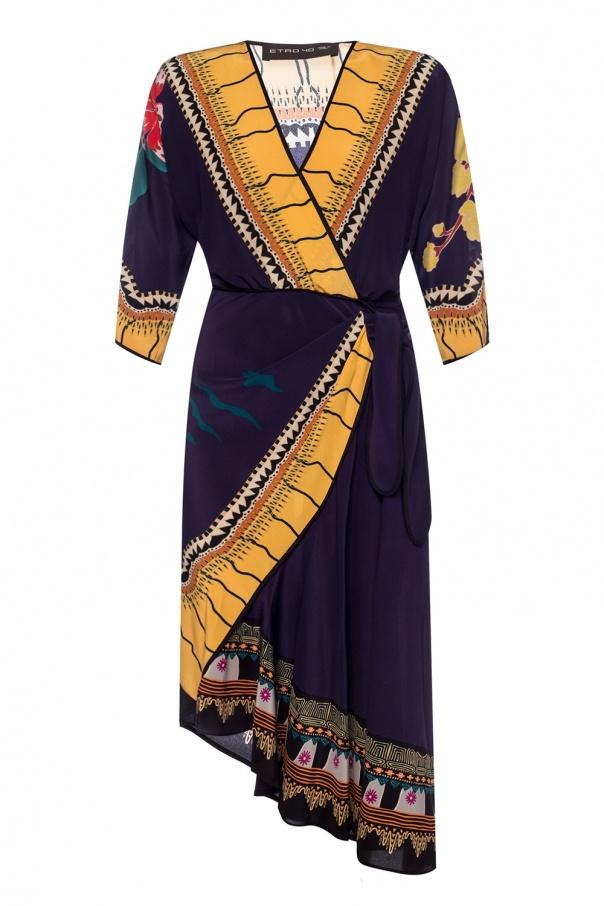 Etro Patterned silk dress