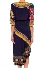 Patterned silk dress od Etro