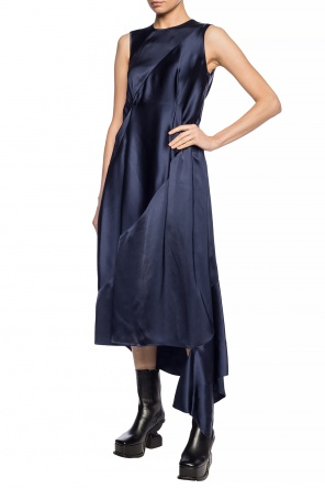 Asymmetrical dress with cut-out od Loewe