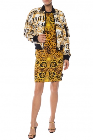Baroque-printed dress od Versace Jeans Couture