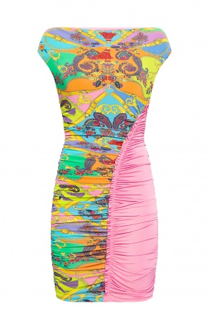 Patterned sleeveless dress od Versace Jeans Couture