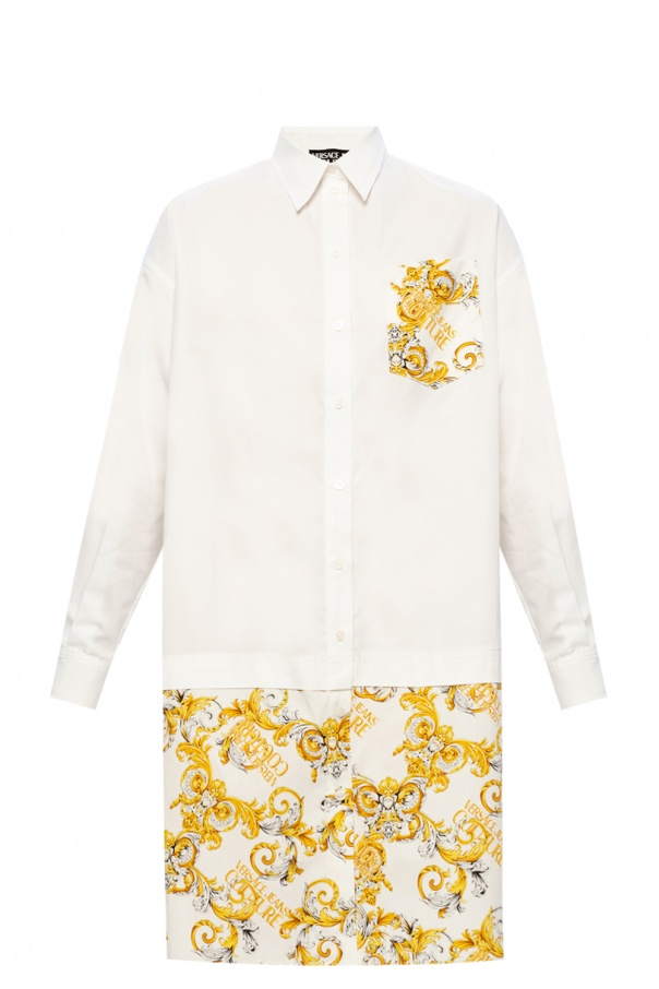 Versace Jeans Couture Barocco-printed dress