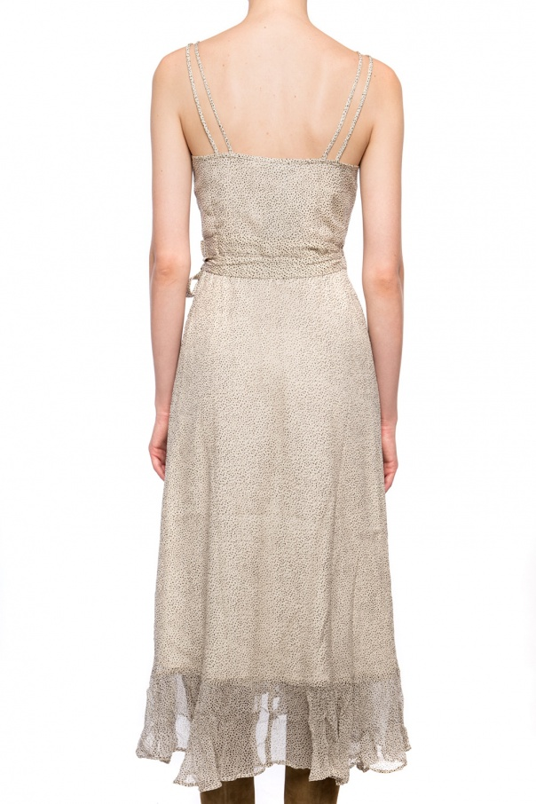 'dayla' dress with tie fastening od AllSaints