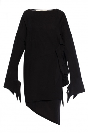 Lace-up detail dress od Damir Doma