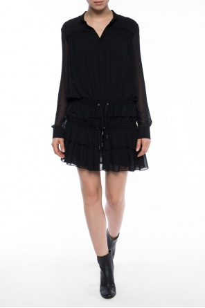 Dress with long sleeves od Diesel Black Gold
