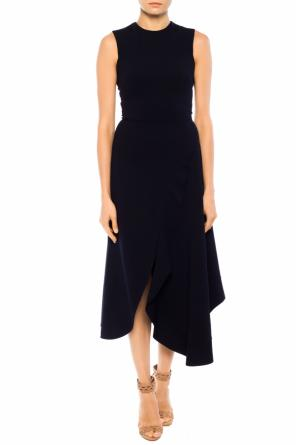 Asymmetric flounce dress od Victoria Beckham
