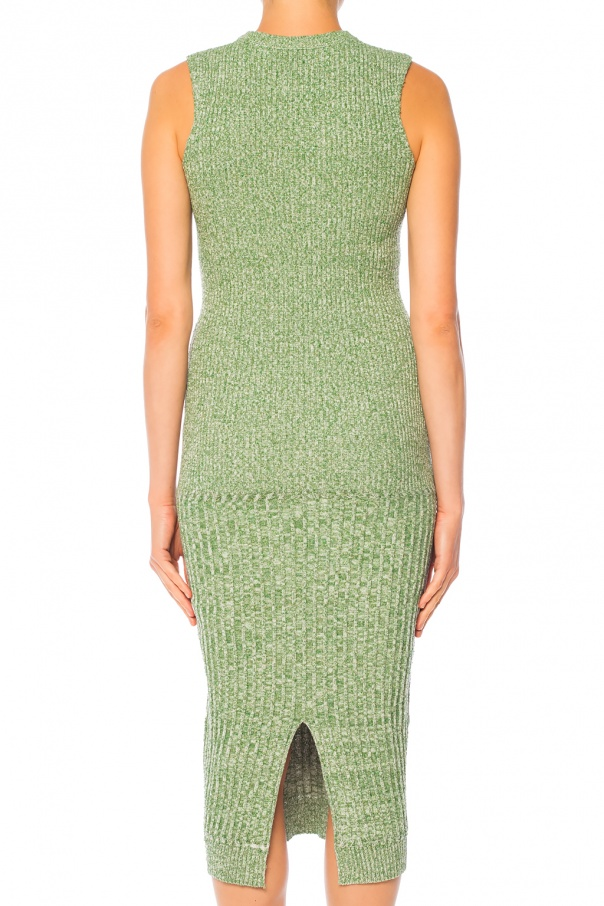 Knitted slip dress od Victoria Beckham