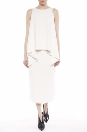 Dress with slits od Victoria Beckham