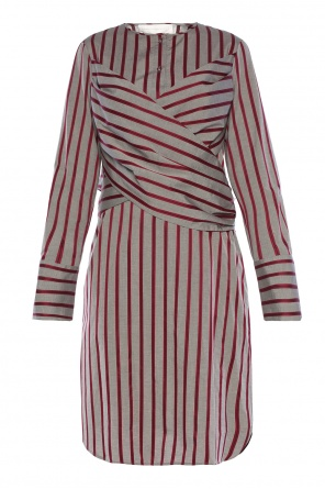 Dress with decorative tie od Victoria Victoria Beckham