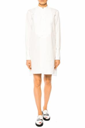 Shirt dress with pleats od Victoria Victoria Beckham