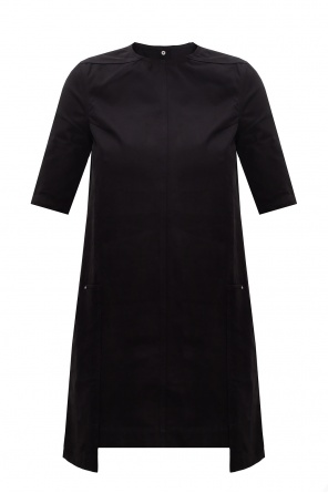 Asymmetric dress od Rick Owens DRKSHDW