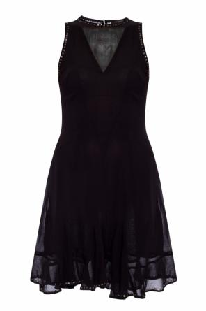 'eleanor' round neck dress od AllSaints