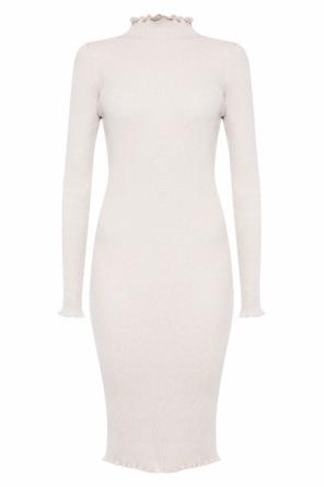 Pencil dress with rollneck od Allsaints