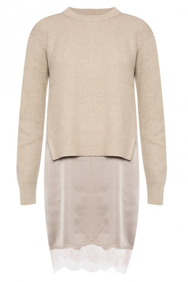 Dress with sweater od Allsaints