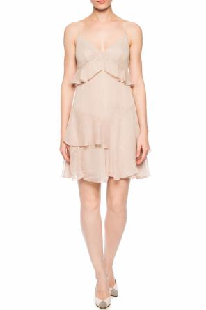 'enya' ruffled dress od AllSaints