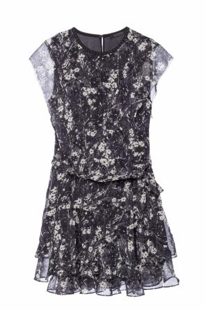 'evely' ruffle dress od AllSaints