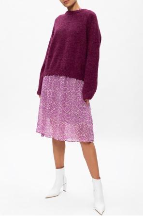 Patterned long sleeve dress od Samsoe Samsoe