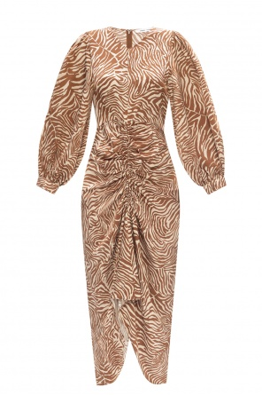 Sukienka z motywem zwierzęcym od Samsøe Samsøe
