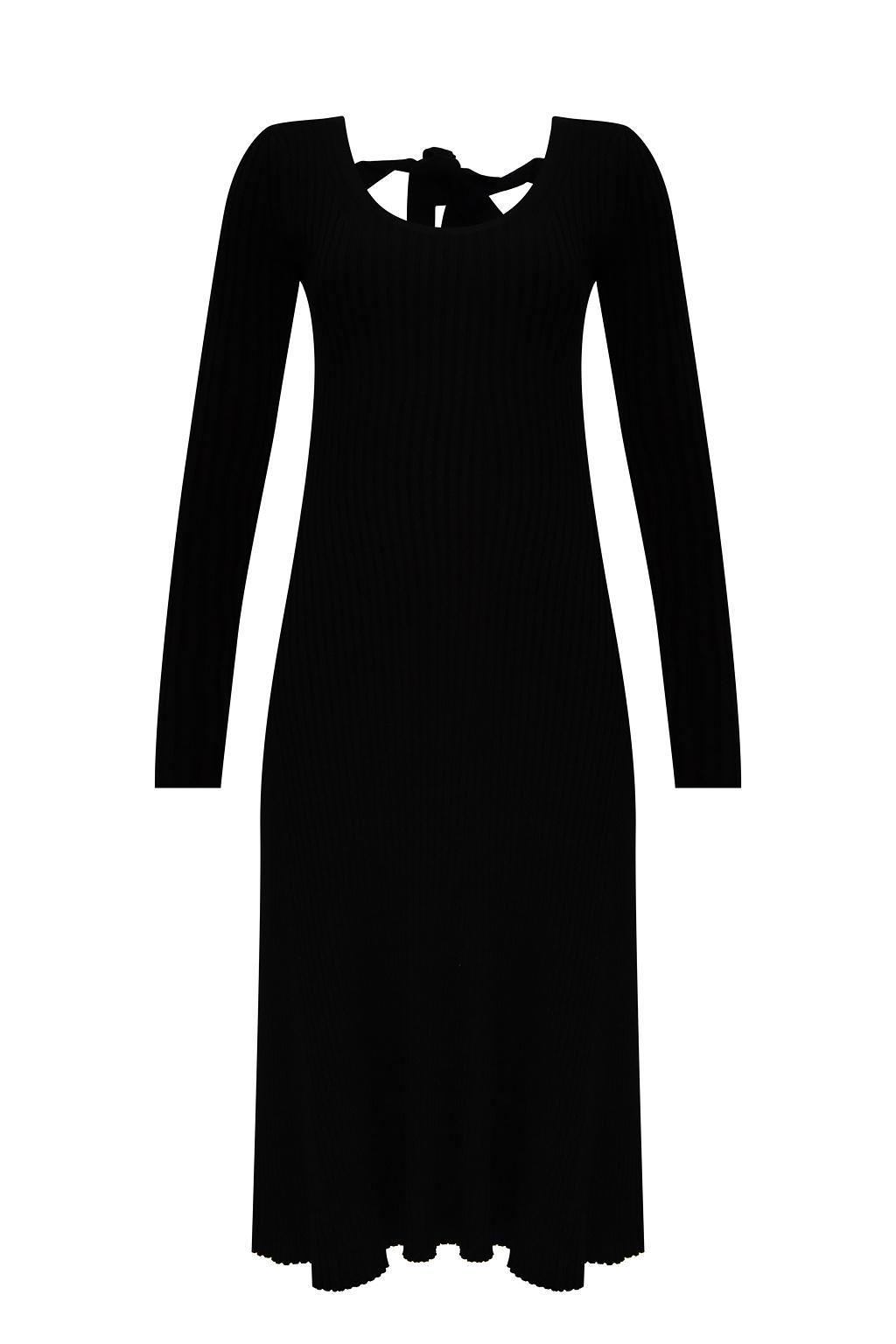 Samsøe Samsøe Sukienka z długimi rękawami