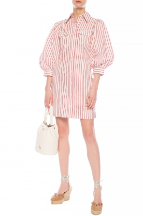 Puff sleeve dress od Ganni