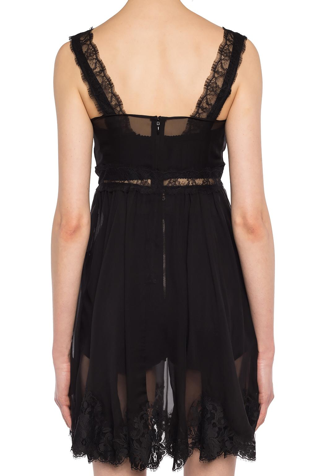 Dolce & Gabbana Ruffled see-through dress