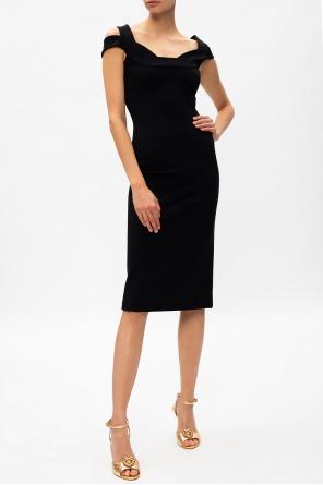Pencil dress with straps od Dolce & Gabbana