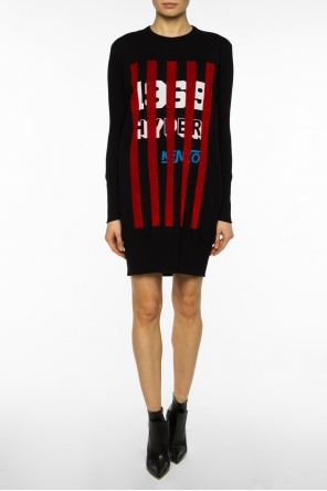 Dress with decorative stripes od Kenzo