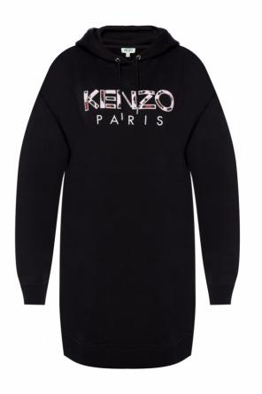 Dress with an embroidered logo od Kenzo