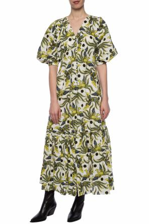 Animal motif dress od Kenzo